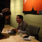Walter book signing © Barbara Dills copy