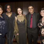 Authors with NPR hosts